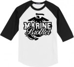 Marine Brother Baseball Tees