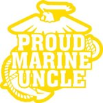 Marine Uncle Stickers