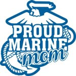 Marine Mom Stickers