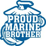 Marine Brother Stickers