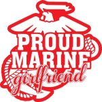 Marine Girlfriend Stickers